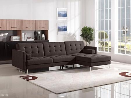 Diamond Sofa OPUSRFSECTCH Opus Series Sleeper Fabric Sofa