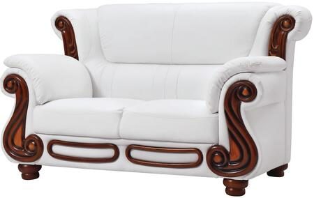 Glory Furniture G827L Faux Leather Stationary Loveseat