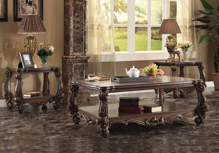 Acme Furniture 821203PC Versailles Living Room Table Sets
