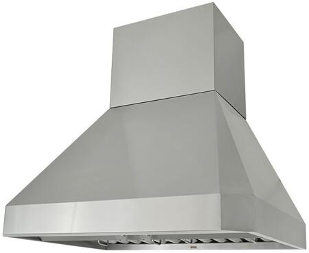 Kobe RA02 RA02SQB-1 Wall Mount Range Hood With High-Performance Fan, Easy Controls, Bright Lighting, Baffle Filter & In Stainless Steel
