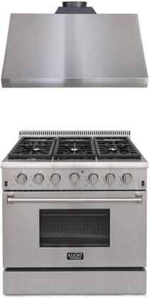 Kucht 722028 Professional Kitchen Appliance Packages