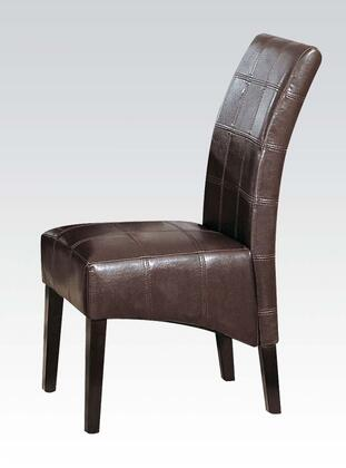 Acme Furniture 00800 Roxana Series Contemporary Wood Frame Dining Room Chair