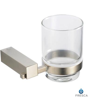 Fresca FAC0410 Ottimo Tumbler Holder with Heavy Duty Brass in