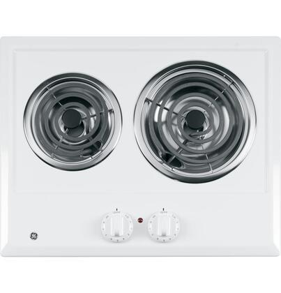"GE JP202DWW 21"" Electric Cooktop |Appliances Connection"