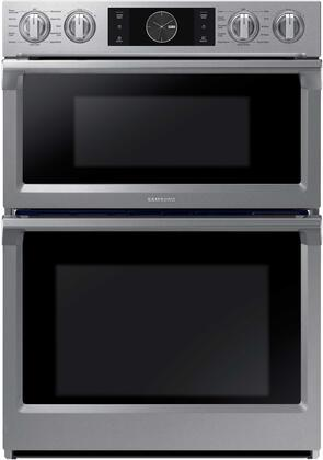 Samsung Nq70m7770ds 30 Inch Stainless Steel Electric Double Wall Convection Steam Oven Microwave Combo