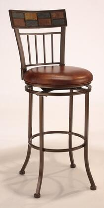 Hillsdale Furniture 4266830 Montero Series Residential Faux Leather Upholstered Bar Stool