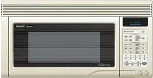 Sharp R1872F 1.1 cu. ft. Over the Range Microwave Oven with 300 CFM, 850 Cooking Watts, in Bisque