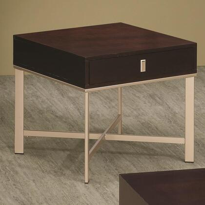 Coaster 701827 701820 Series Contemporary Square End Table