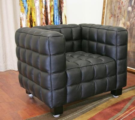 Wholesale Interiors 0717CHAIRBLACK Arriga Series  in Black |Appliances Connection