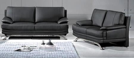 Global Furniture USA 9250SL Casual Leather Living Room Set
