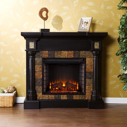 Holly & Martin FE87XX Carrington Faux Slate Convertible Electric Fireplace