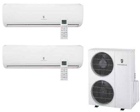 Entire Multi-Zone Ductless System with Remote Controls