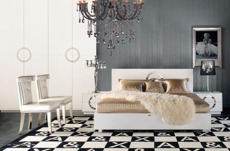 VIG Furniture AW223180K  King Size Platform Bed