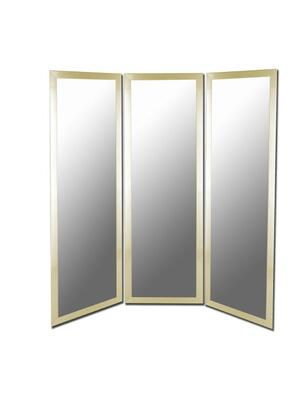 "Hitchcock Butterfield 670XPMRD Cameo 66""W x 70""H Mirrored Room Divider"