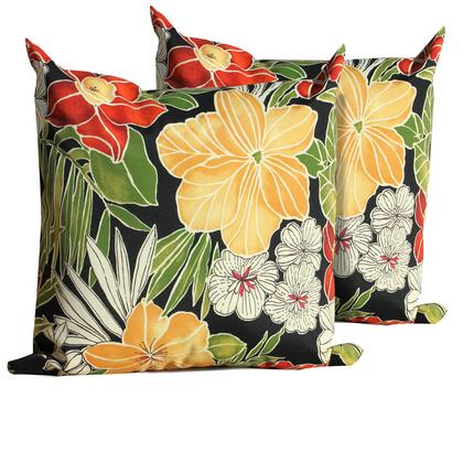 PILLOW BLKFLOR 18x18 2x