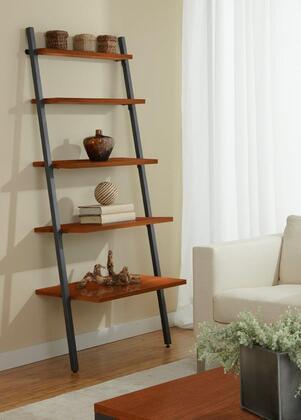 Unique Furniture B3071 5-tier Leaning Ladder Bookshelf