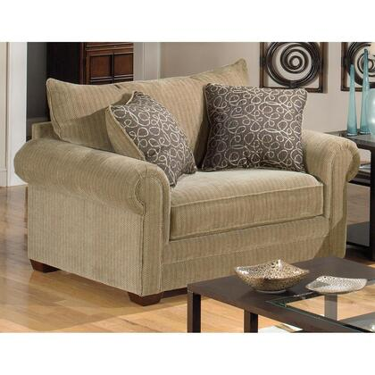 Jackson Furniture 434201 Fabric Armchair with Wood/Steel Frame