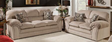 Simmons Upholstery 61500302HARPERCOCOA Harper Living Room Se