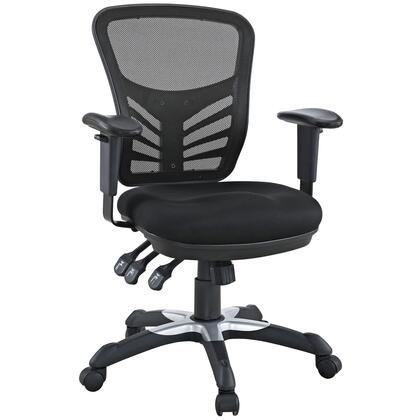 """Modway EEI757BLK 27"""" Adjustable Contemporary Office Chair"""