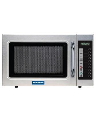 Turbo Air TMW110 Microwave Oven with Euro Styling, Stainless Steel Construction, Recessed Door Handle, Tempered Glass Door and Interior Light: