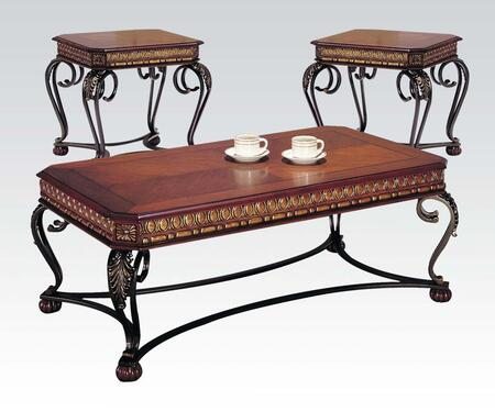 Acme Furniture 07743 Traditional Living Room Table Set
