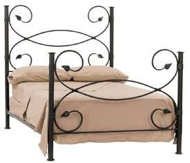 Stone County Ironworks 900698  Twin Size Complete Bed