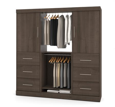 """Bestar Furniture 25854 Nebula by Bestar 80"""" Storage kit"""