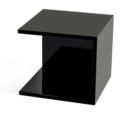 VIG Furniture VGGU846ETBLK Modrest Series Square Wood Night Stand