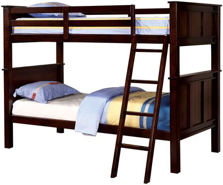 Furniture of America CMBK930TTBED Gracie Series  Twin Size Bunk Bed