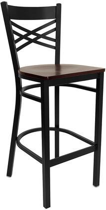 Flash Furniture XU6F8BXBKBARMAHWGG Hercules Series Not Upholstered Bar Stool