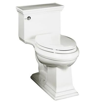 Kohler K-3813- Memoirs Collection Comfort Height One Piece Elongated 1.28 gpf Toilet with Stately Design: