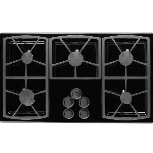 Dacor SGM365BLPH Classic Series Liquid Propane Sealed Burner Style Cooktop  Appliances Connection