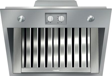 Miele DAR11 Range Hood Insert with Temperature Sensor, Dishwasher-safe Stainless Steel Baffle Filters, LED Lighting, and Knob Controls, in Stainless Steel