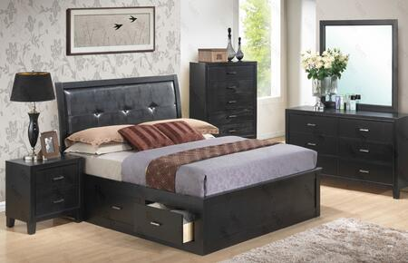 Glory Furniture G1250BQSBDMN G1250B Queen Bedroom Sets