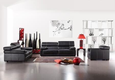VIG Furniture VGCA381 Modern Leather Living Room Set