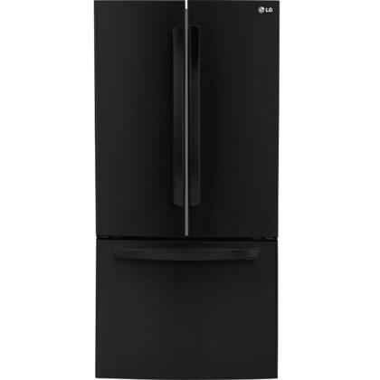 """LG LFC24770 33"""" ENERGY STAR Rated French Door Refrigerator with 24 Cu. Ft. Ultra Capacity, Smart Cooling System, Multi-Air Flow Freshness System, LED Lighting and Door Alarm:"""