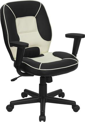 """Flash Furniture BT2922BKGG 27"""" Contemporary Office Chair"""