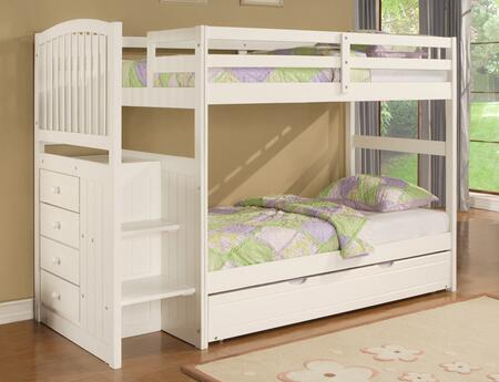 Powell 929037 Angelica Series  Twin Size Bunk Bed