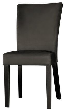 Chintaly MONICA-PRS-SC Monica Modern Microfiber Parson Side Chair in