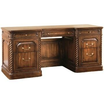 Ambella 24014340001B Barrister Series Credenza  Wood Desk