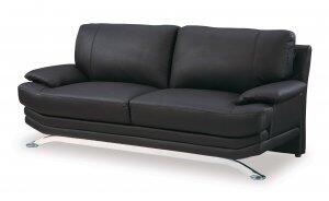 Global Furniture USA 9250S  Leather Sofa