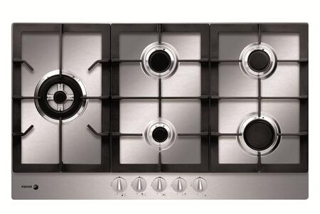 "Fagor FA950STX 34"" Gas Sealed Burner Style Cooktop, in Stainless Steel"