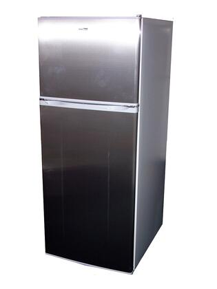Equator RF1220S  Refrigerator with 12.0 cu. ft. Capacity in Brushed Stainless