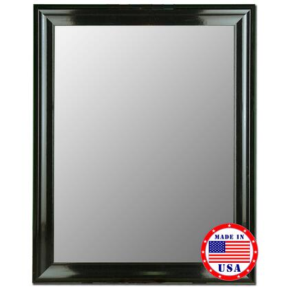 Hitchcock Butterfield 20590X Cameo Grande Mirror in Glossy Black