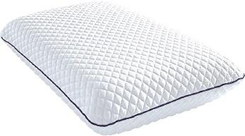 MLily Bliss Collection BLISSGEL Set of 6 Size Pillows with Gel-Infused Ventilated Memory Foam, Heat-Dissipating Gel Pad Insert and Extra Soft Fabric in White Color