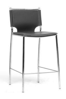 Wholesale Interiors ALC-1083A-65 Montclare Leather Modern Counter Stool