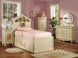 Acme Furniture 02207F Doll House Series  Book Case Bed