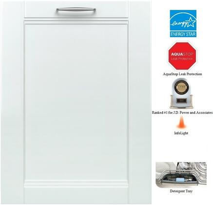 "Bosch SHV53T53UC 24"" 300 Series Built In Fully Integrated Dishwasher"