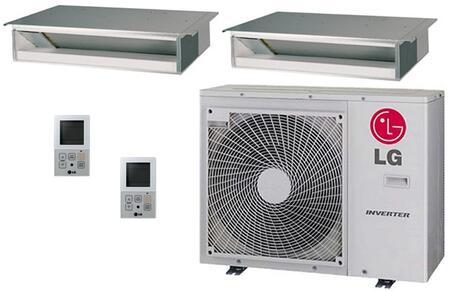 LG 704527 Dual-Zone Mini Split Air Conditioners