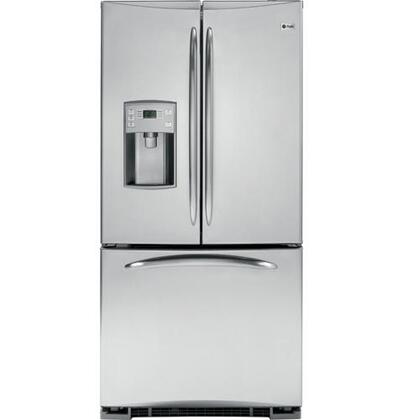 GE PFSS2MJYSS Profile Series  French Door Refrigerator with 22 cu. ft. Total Capacity 4 Glass Shelves |Appliances Connection